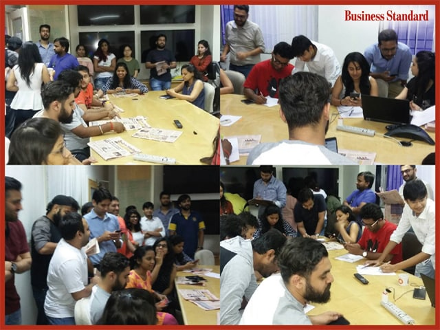 Fridays With Business Standard At  Interactive Avenues, Mumbai.