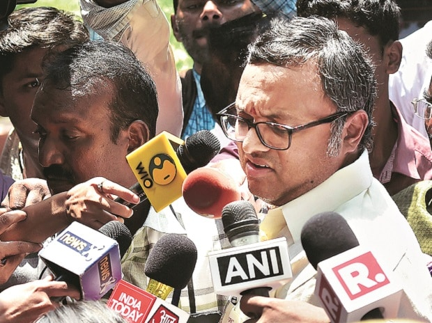 File photo of Karti Chidambaram. Photo: PTI