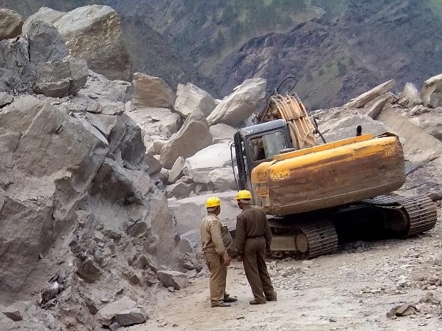 Uttarakhand landslide, landlside
