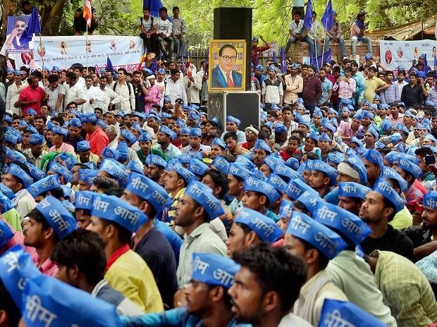Jantar Mantar, Dalit protest, Saharanpur