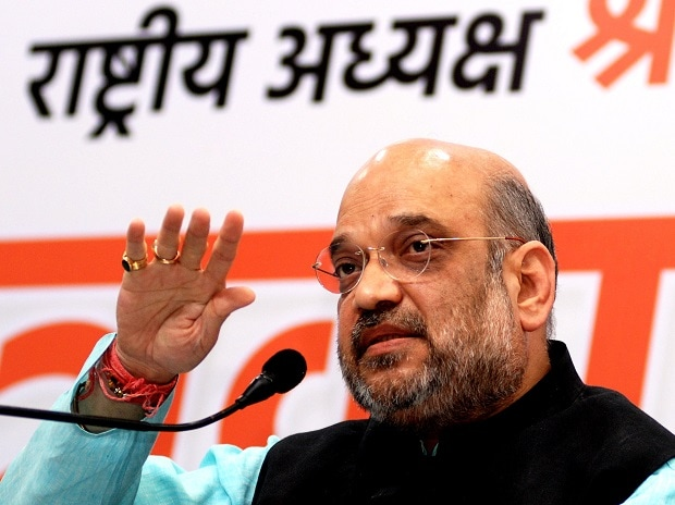 BJP National President Amit Shah (Photo: Dalip Kumar)