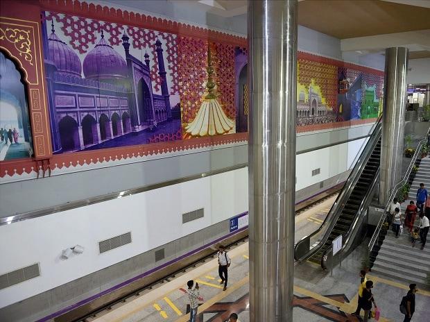 New heritage line metro