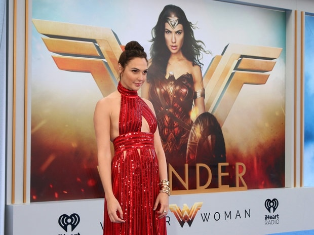 Gal Gadot at the Wonder Woman premiere in Los Angeles Image: Shutterstock