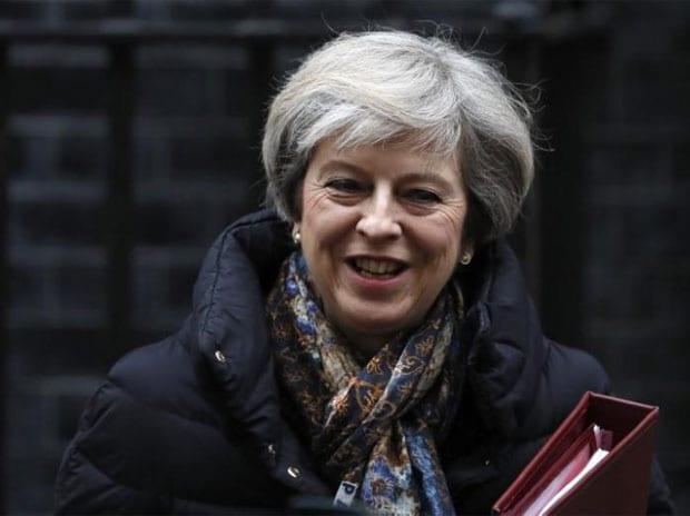 theresa may, uk immigration policy, donald trump