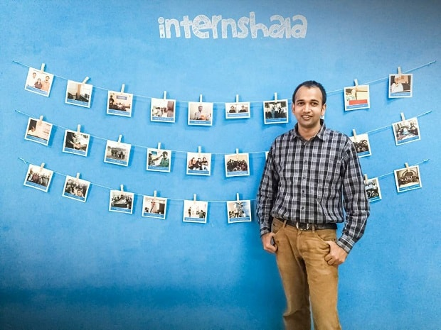 Internshala, Sarvesh Agarwal, internship