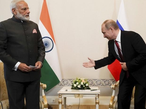 Narendra Modi, Vladimir Putin, Russian President, Putin, Modi, India-Russia talks, Russia, st Petersburg,