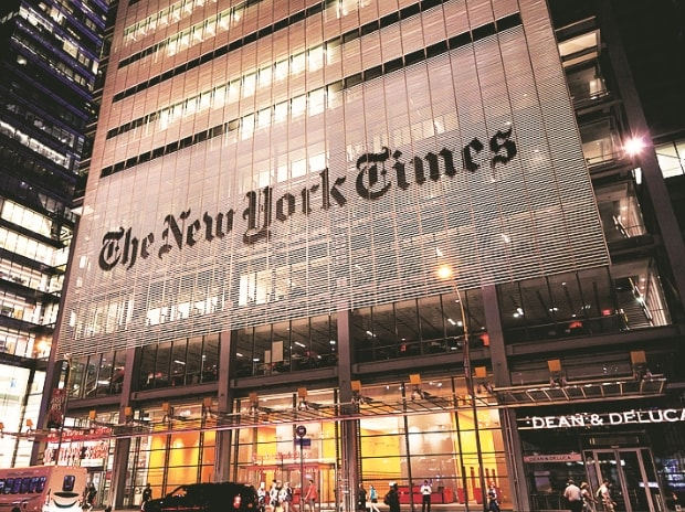 New York Times to suspend journalist over sexual misconduct
