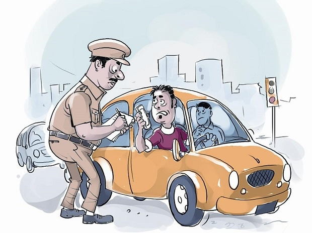 traffic, traffic police, traffic violators, challans