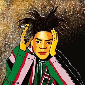 A portrait of Jean-Michel Basquiat. Photo: Jacquelinekato/Wikimedia Commons