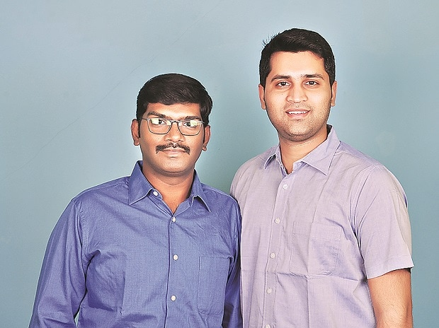 (From left) Maheedhar N V and Sai Krishna Popuri , co-founders of Health Sutra