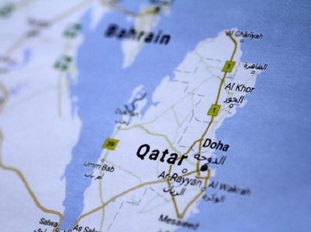 Qatar, Qatar map