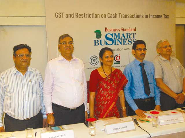 GST and Restriction on Cash Transactions in Income Tax