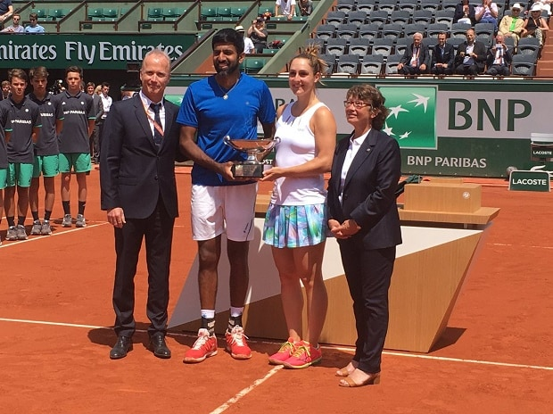 French Open mixed doubles: Rohan Bopanna clinches maiden Grand Slam title
