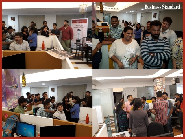 Fridays With Business Standard At  BC Web Wise, Mumbai.