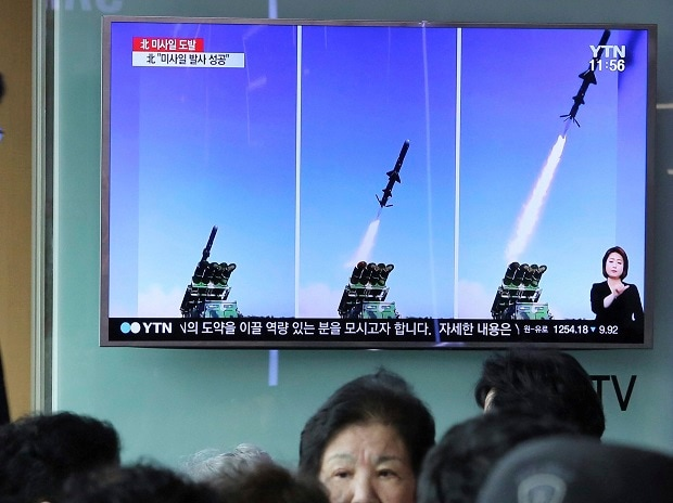 North Korea, surface to ship missile
