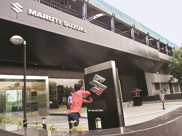 With Friday's 3% stock rally, Maruti emerged as the eighth most valued entity