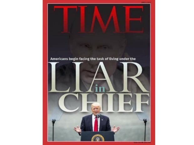 fake Time Magazine's cover, time magazine, donald trump