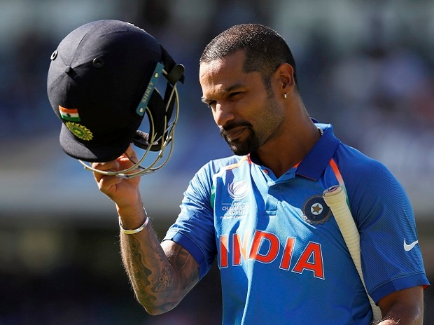 Shikhar Dhawan. Photo: PTI