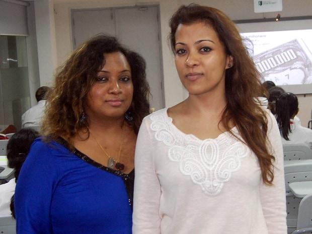 (From left to right) Devika Majumder and Smita Majumder, co-founders, Youngpreneurs