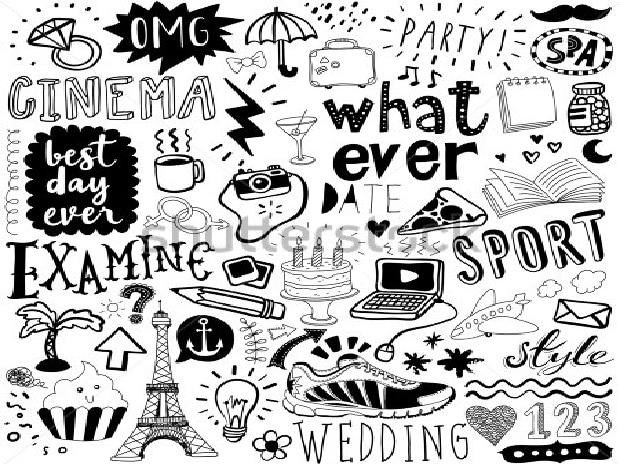 doodle, doodling
