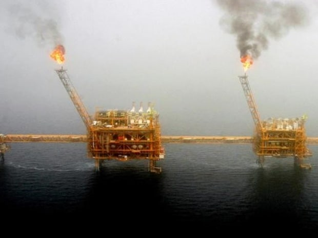 oil field, Iran