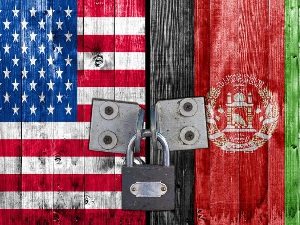 US, Afghanistan, flag, America