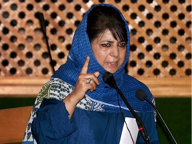 Jammu and Kashmir Chief Minister Mehbooba Mufti. Photo: PTI