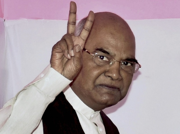File photo of Bihar Governor Ram Nath Kovind, who was announced as NDA's presidential candidate.