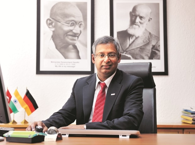 Soumitra Bhattacharya, Bosch Managing Director and President of Bosch Group India