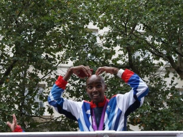 Sir Mohamed Muktar Jama Farah, a Somalian-British distance runner