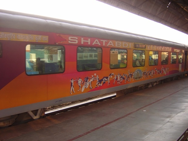 Shatabdi Train. Photo: wikicommons