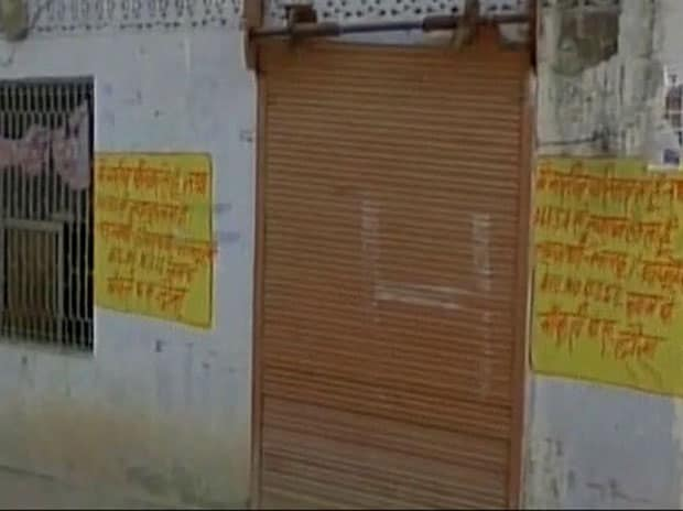 'I am poor, receive ration' painted on houses in Rajasthan's Dausa