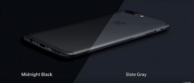 OnePlus 5 colour variants