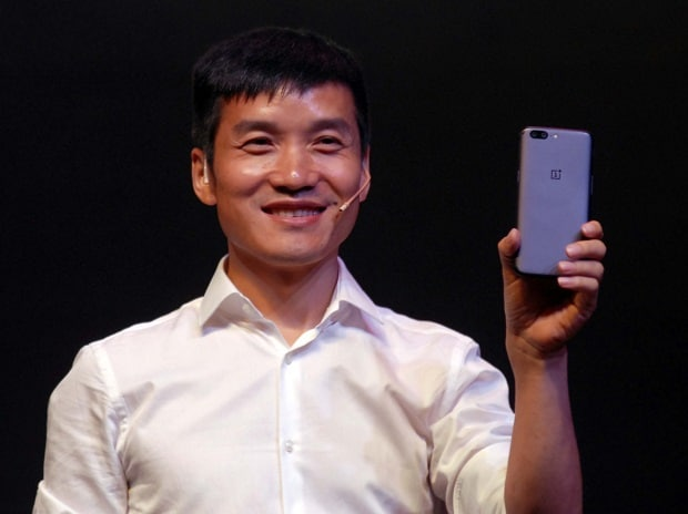 OnePlus co-founder and CEO, Pete Lau during the launch of OnePlus 5 smartphone in Mumbai on 22nd june, 2017  Photo: KAMLESH PEDNEKAR