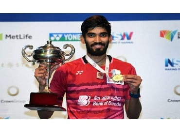 Srikanth beats Olympic champ Chen Long to win maiden Australian Open title
