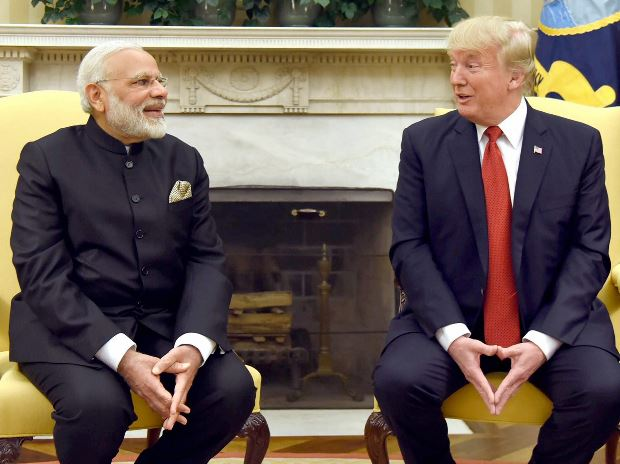 Trump-modi meeting