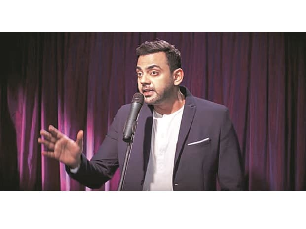 Stand-up comedian Cyrus Sahukar campaigns for LazyPay