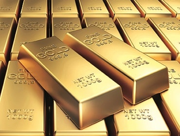 Weaker dollar and stock market jitters drive gold higher
