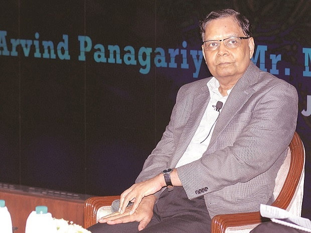 NITI Aayog Vice-Chairman Arvind Panagariya. Photo: Kamlesh Pednekar