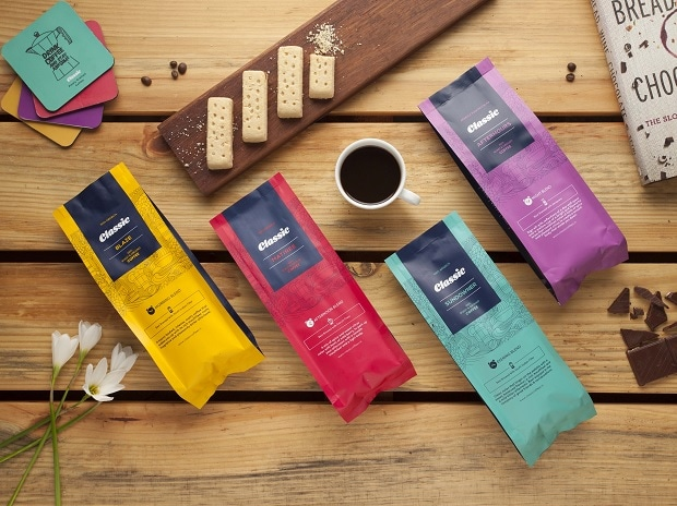 A new range of coffee offers different blends for different times of the day