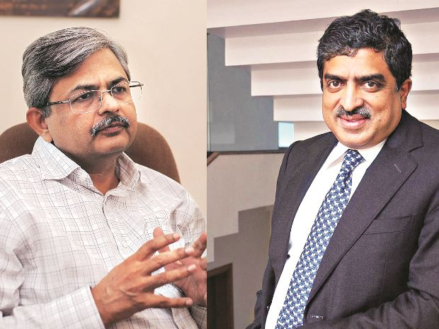 Nandan Nilekani,  Sanjeev Aggarwal