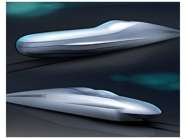 A rendering of the two test models. (Photo: East Japan Railway)