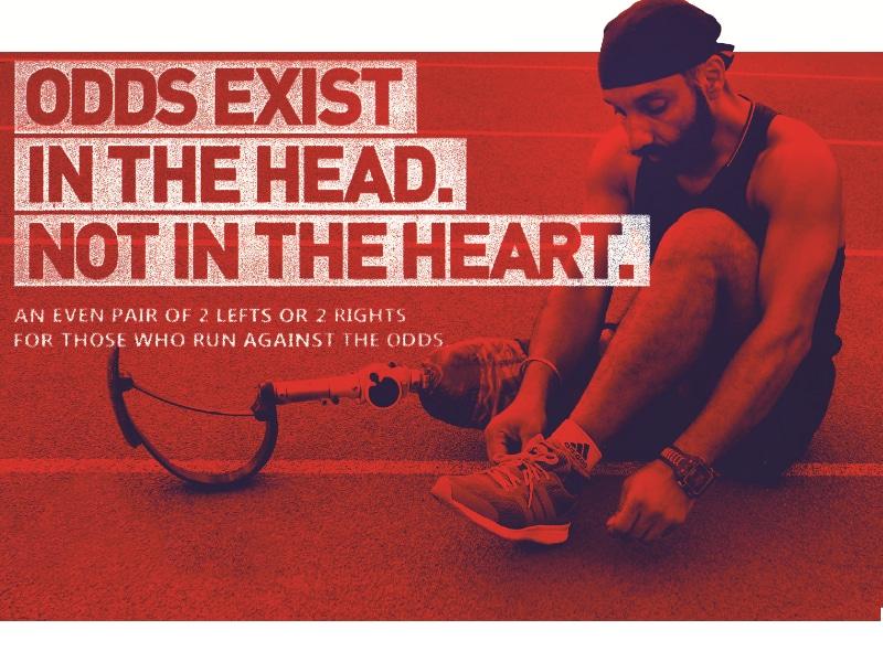 Adidas Odds, Adidas, shoes, para athlete