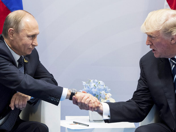 Trump-Putin chat for hours