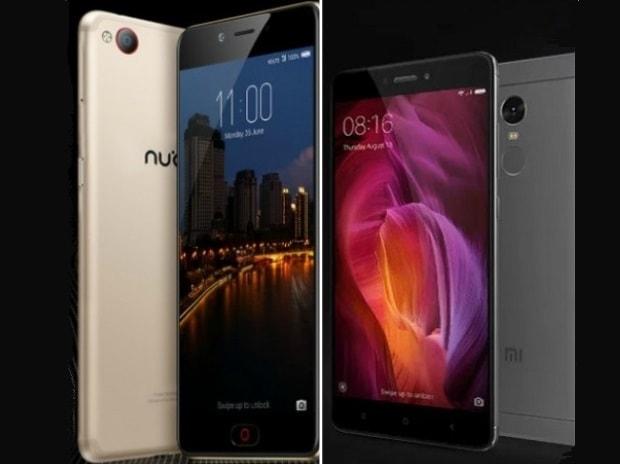 Nubia N2, Redmi Note 4, smartphones