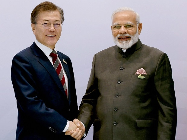 Narendra Modi, Moon Jae-in, G20 Summit