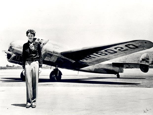 The Indian adventures of Amelia Earhart before  she disappeared into oblivion 80 years ago