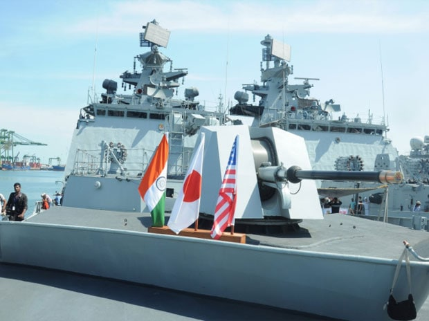 Malabar 2017: USS Nimitz leads drills with India and Japan