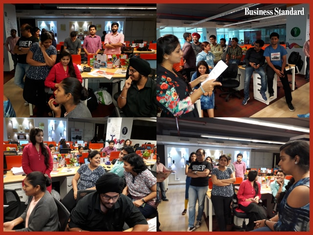 'Fridays with Business Standard' wows Isobar India