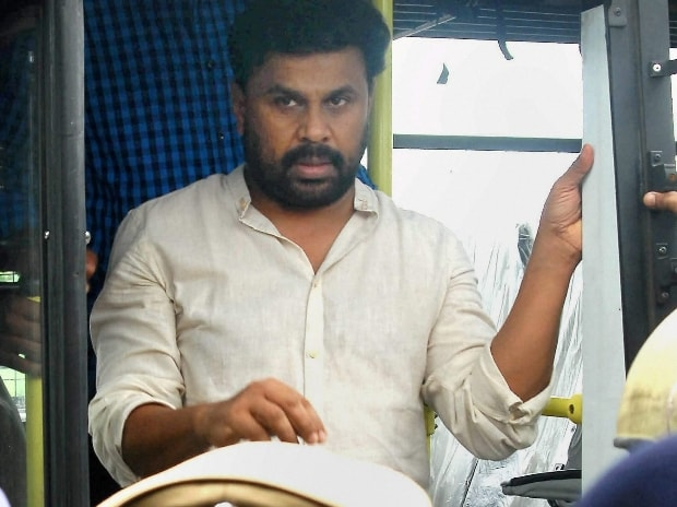Malayalam actor Dileep being brought to Thrissur as part of evidence collection in the actor abduction and assault case.